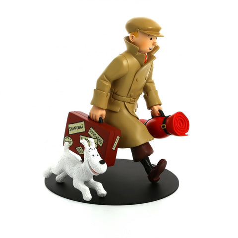 Resin Collectible: Tintin Homecoming