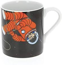 MUG: Tintin & Haddock On The Moon
