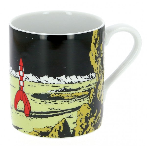 MUG: Tintin Moon Rocket