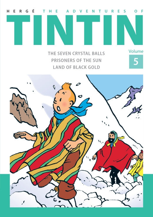 TINTIN COMICS: Collector's Volume 5