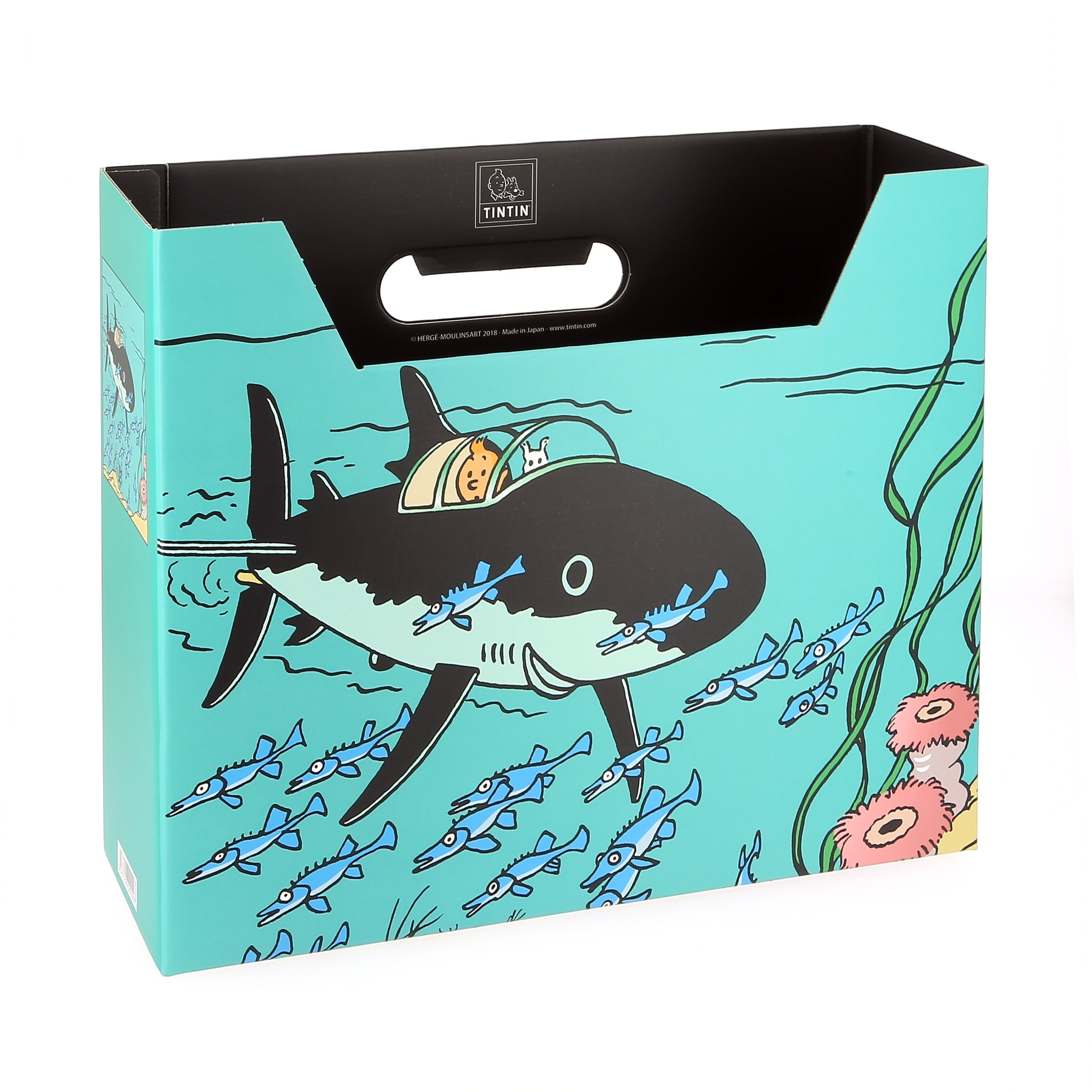 BOX FILE: Submarine Shark