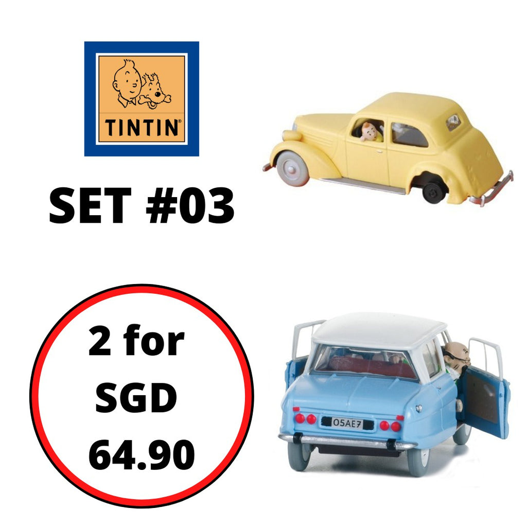 TINTIN CARS : Bundle Set #03