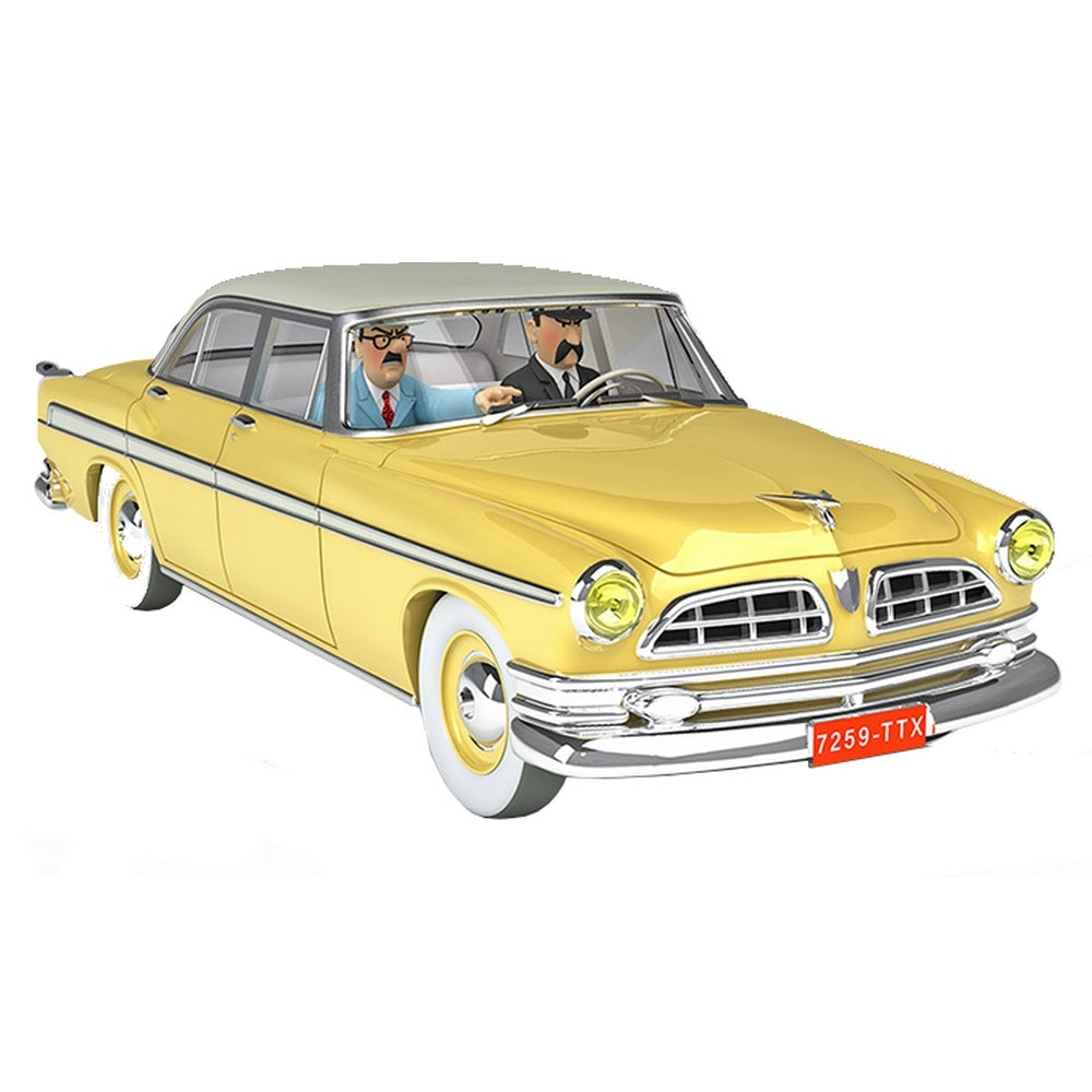 TINTIN CARS: #39 - The Yellow Chrysler (1/24 Scale)