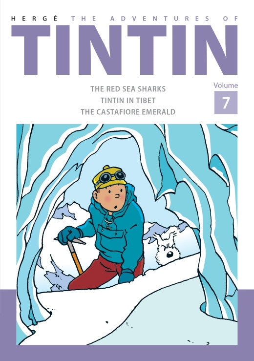 TINTIN COMICS: Collector's Volume 7