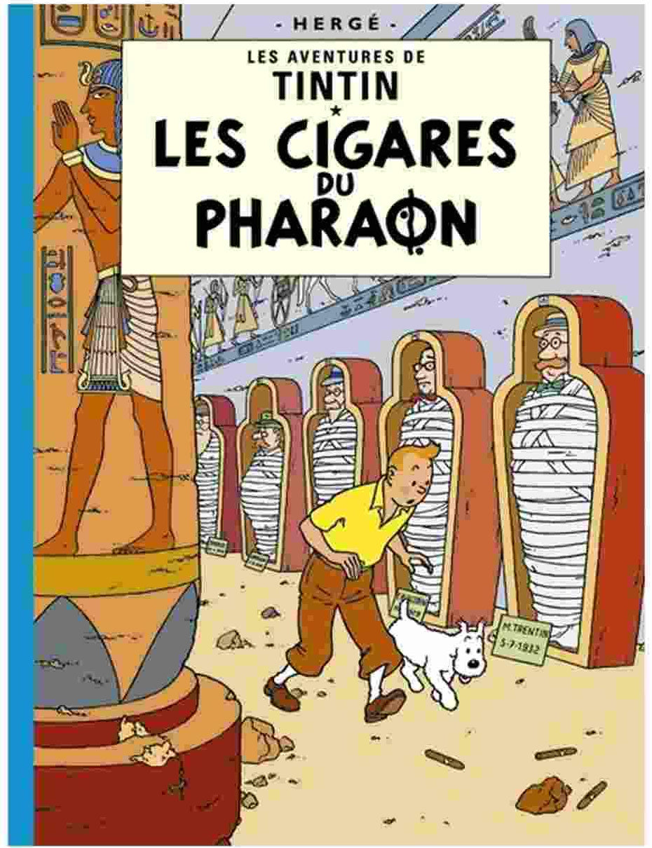 FRENCH ALBUM #04: Cigars of the Pharaoh