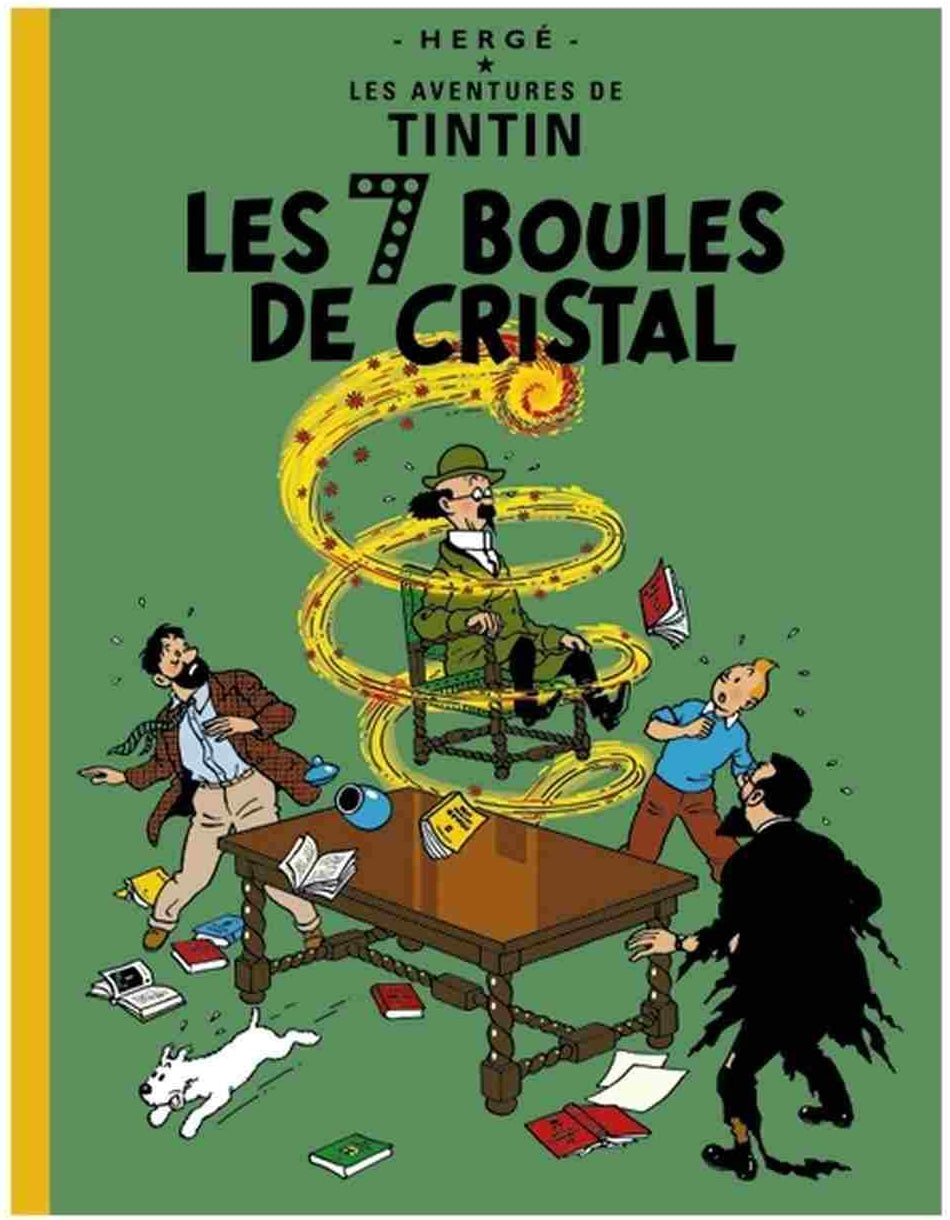 FRENCH ALBUM #13: Seven Crystal Balls