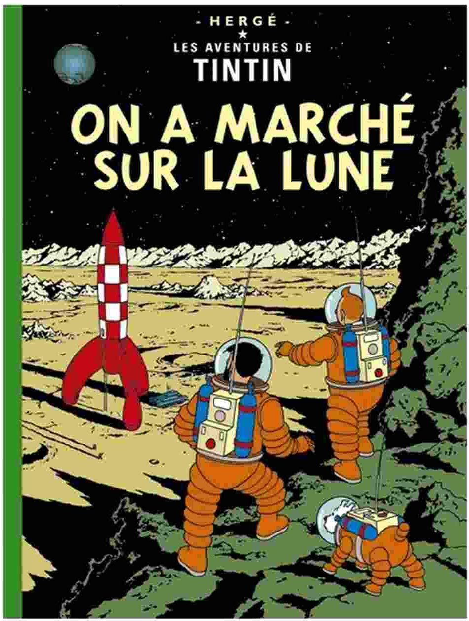 FRENCH ALBUM #17: Explorers on the Moon