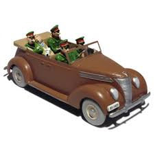 TINTIN CARS: FORD V8 CONVERTIBLE