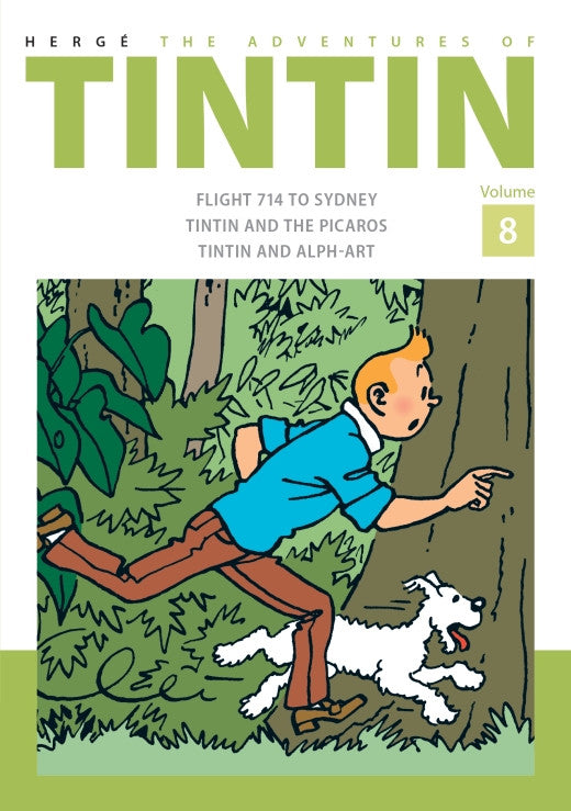 Tintin Comic: Collector's Volume 8