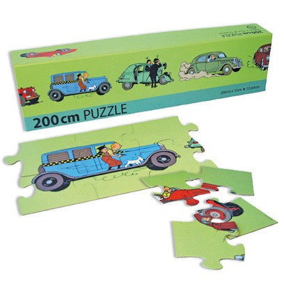 PUZZLE - FRIEZE CARS 200CMx15CM - 52 PIECES