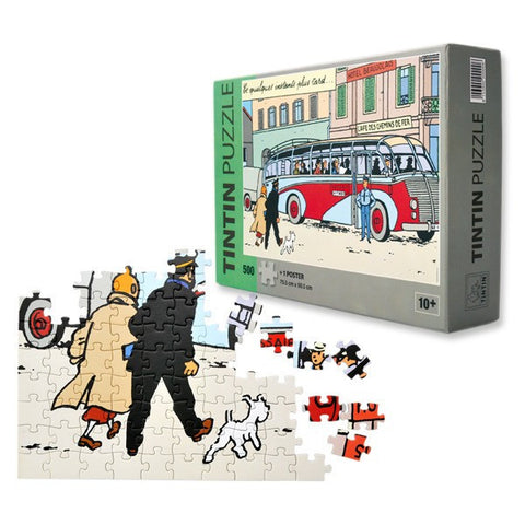 PUZZLE - BUS SWISSAIR - 500 PIECES