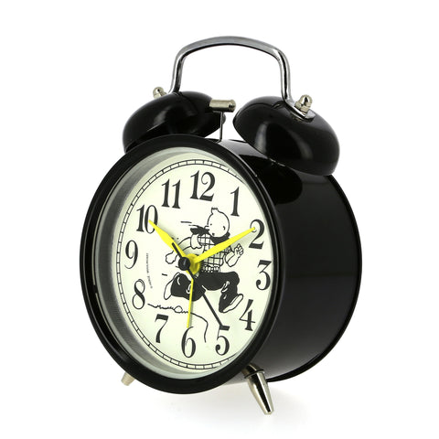 (NEW) Clock: Tintin Cowboy (Yellow Needle)