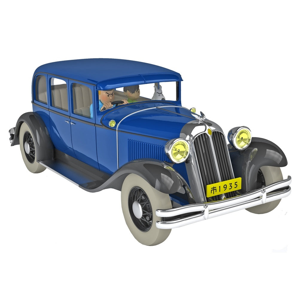 TINTIN CARS: #15 - The Chrysler Imperial To Nankin (1/24 Scale)