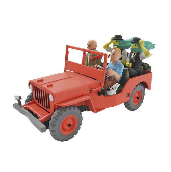 TINTIN CARS 2: Thomson Twins Jeep