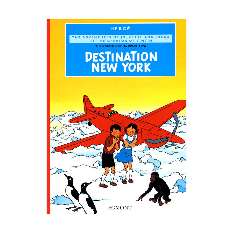 Herge Comics: Destination New York