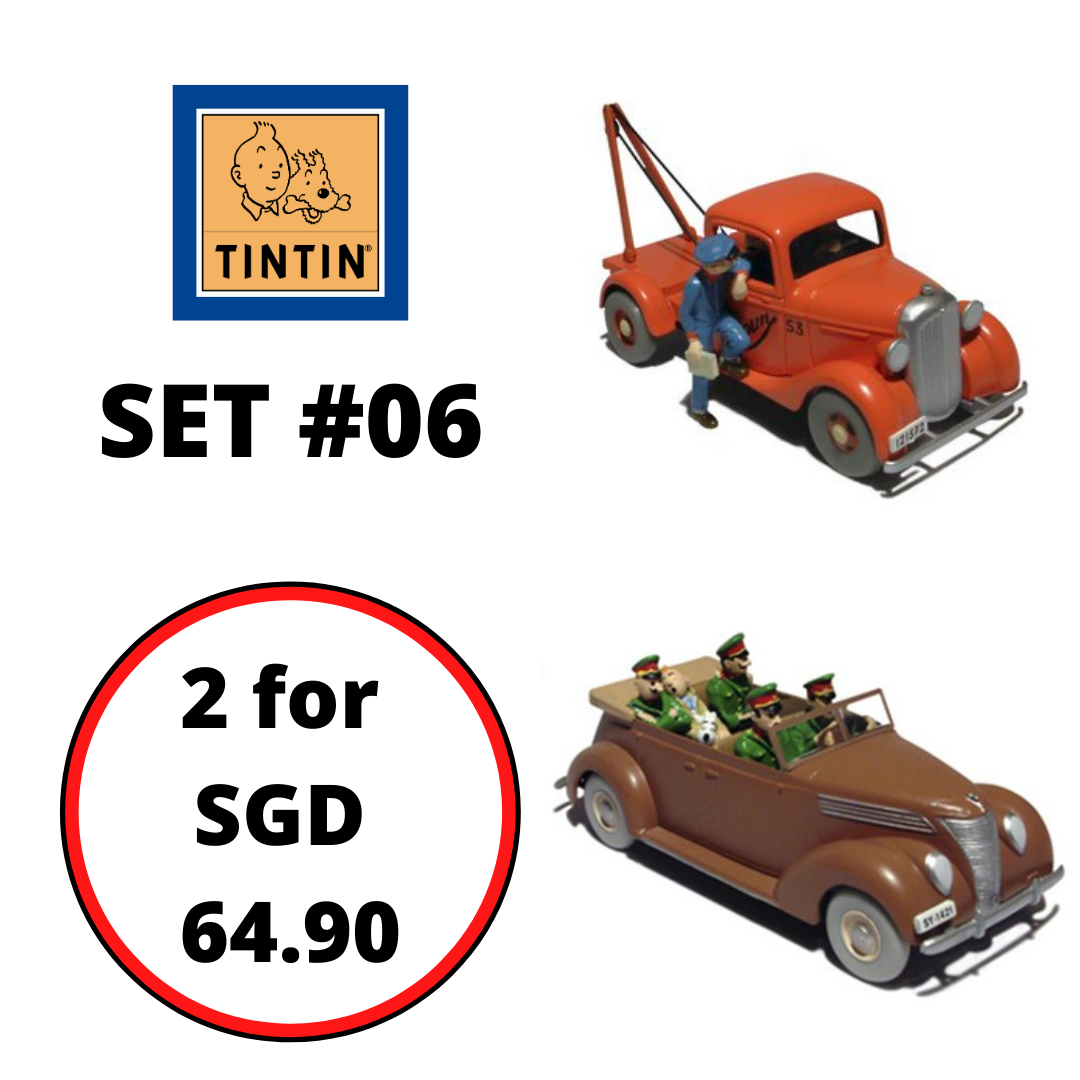 TINTIN CARS : Bundle Set #06