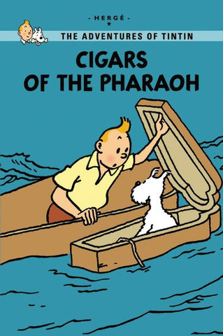Tintin Young Readers: Cigars of the Pharaoh