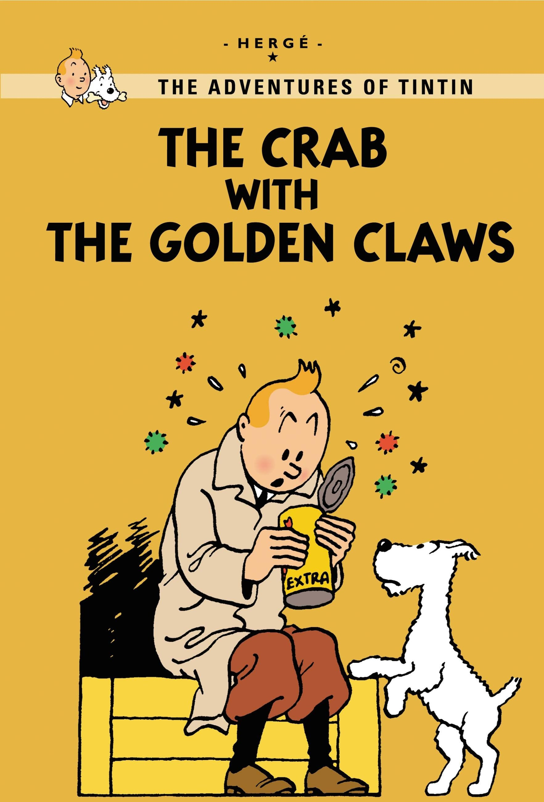 TINTIN YR: Crab With Golden Claws