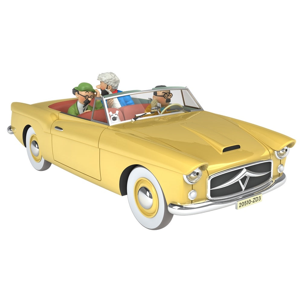 TINTIN CARS: #24 - The Convertible Borduria (1/24 Scale)