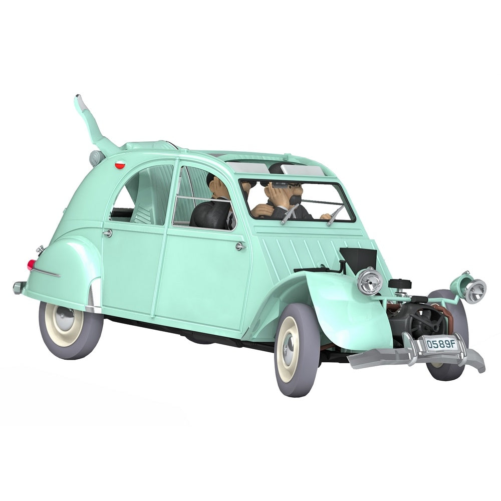 TINTIN CARS: #11 - Crashed 2CV (1/24 Scale)