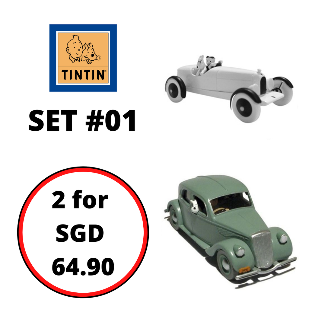 TINTIN CARS : Bundle Set #01