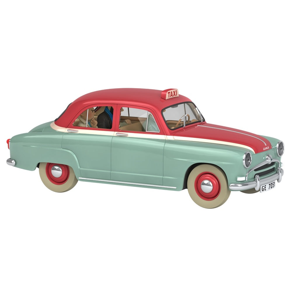 TINTIN CARS: #29 - The Taxi Simca (1/24 Scale)
