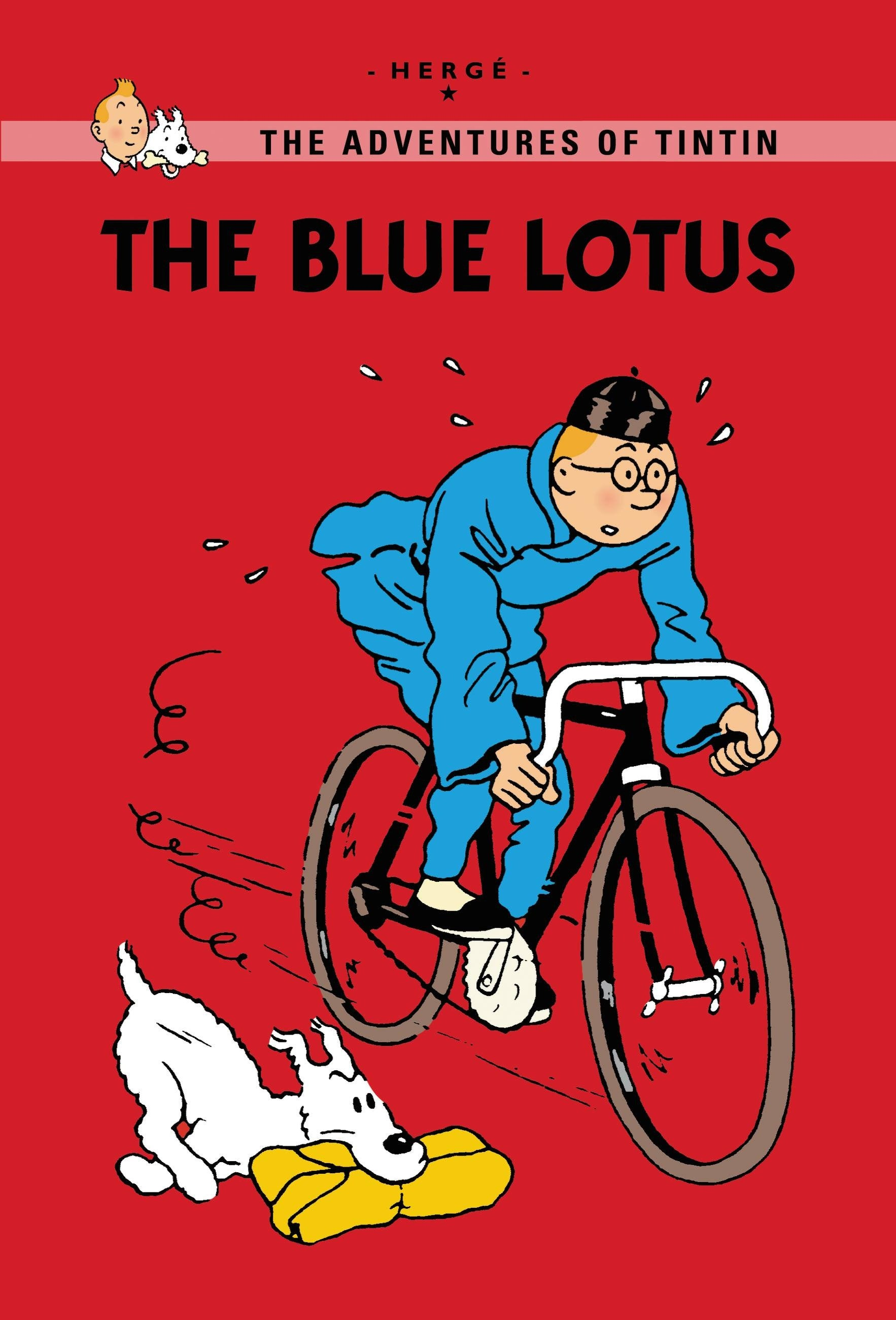TINTIN YOUNG READERS: The Blue Lotus