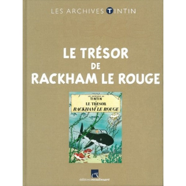 FR COVER ALBUM: Les Archives Rackham Le Rouge