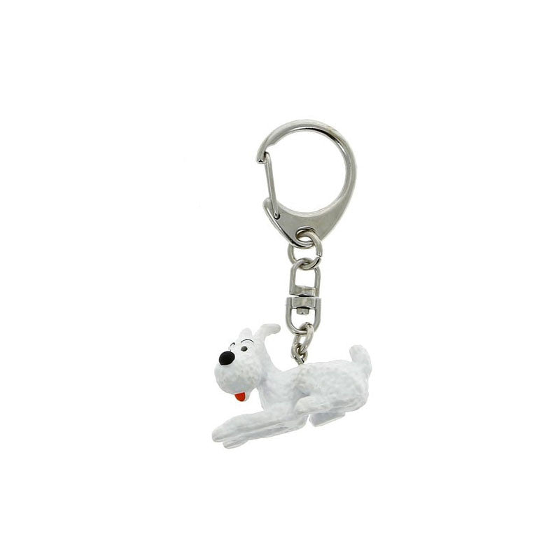 PVC Keyring: Snowy Lying (small)