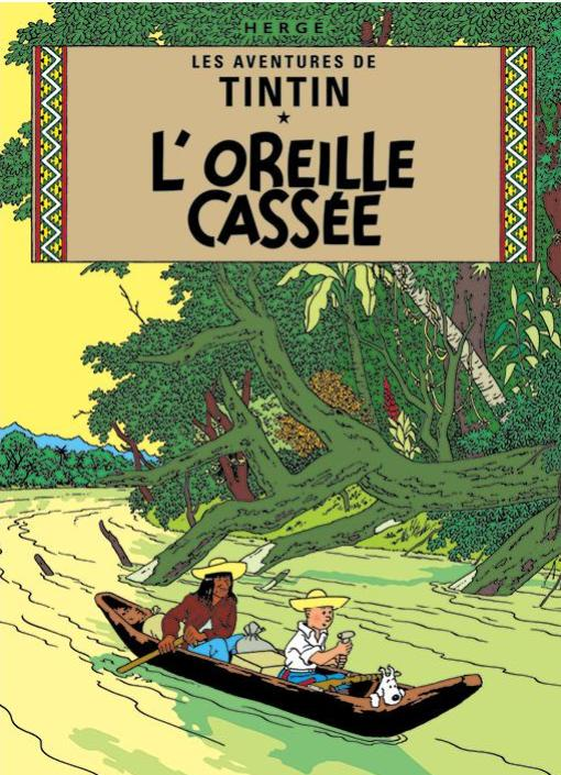 FR COVER POSTCARD: Oreille Cassee
