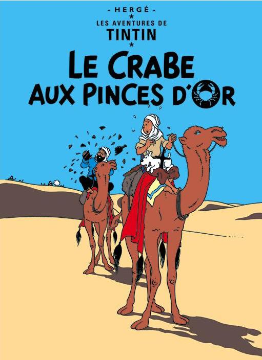 FR COVER POSTCARD: Crabe Aux Pinces D'Or