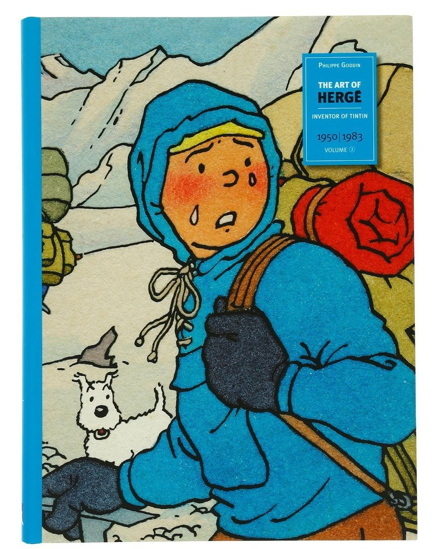BOOK: Art of Herge Volume 3 (English)