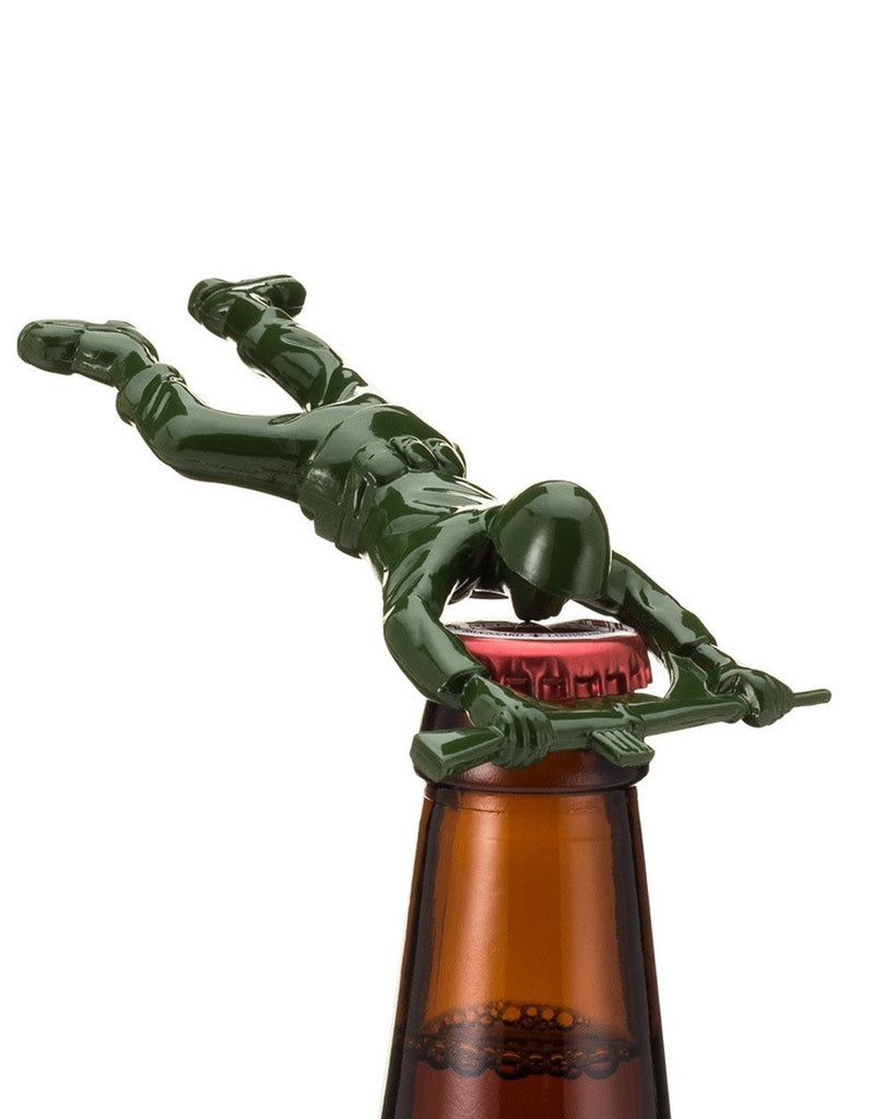 SGT. PRYER GREEN ARMY MAN BOTTLE OPENER