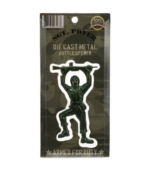 GREEN ARMY MAN BOTTLE OPENER