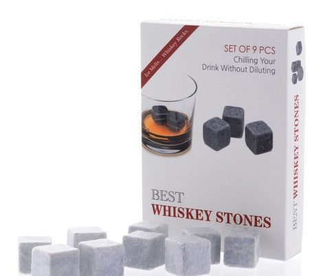 Whiskey Stones Set Of 9