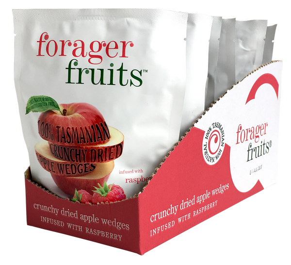 Freeze Dried Raspberries | Freeze Dried Apple infused with raspberry