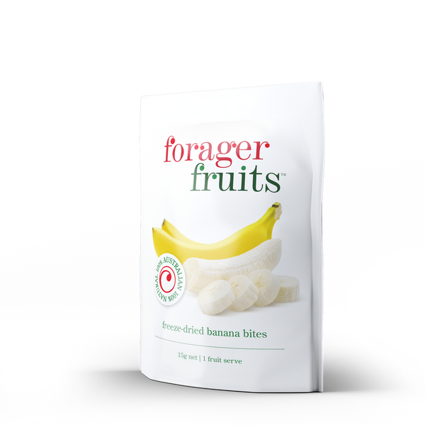 Freeze Dried Banana Bites | 100% Australian - Forager Foods