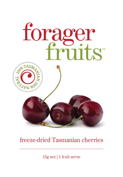 Freeze Dried Tasmanian Cherries | 100% Australian - Forager Foods