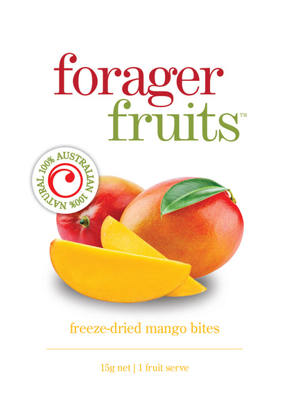 Freeze Dried Mango Bites | 100% Australian - Forager Foods