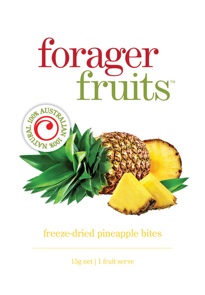 Freeze Dried Pineapple Bites | 100% Australian - Forager Foods