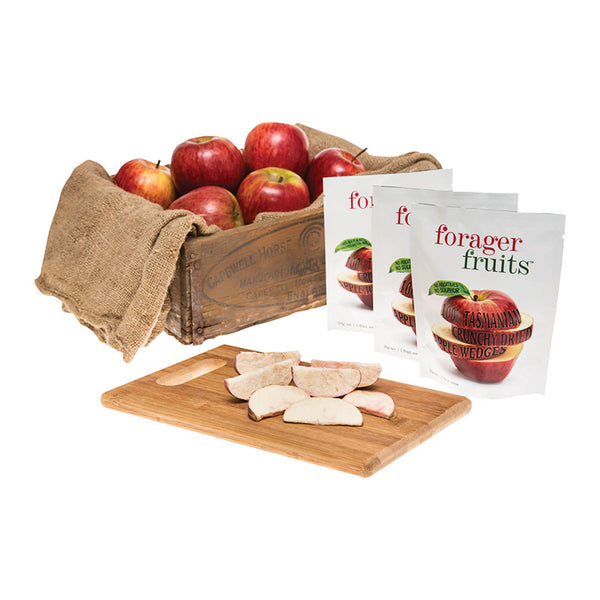 Freeze Dried Apple Wedges | 100% Tasmanian - Forager Foods