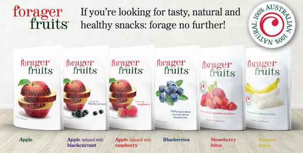 Freeze Dried Fruit | Mixed Carton | Forager Fruits - Forager Foods
