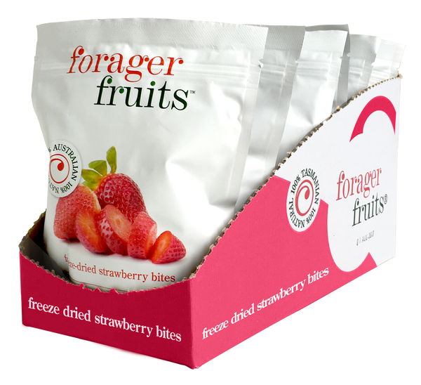 Freeze Dried Strawberries | 100% Australian - Forager Foods