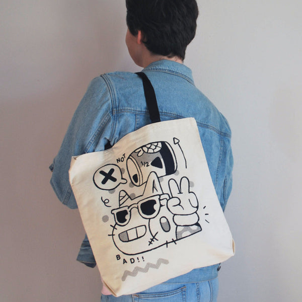 Okay Cat Tote - Weird Empire