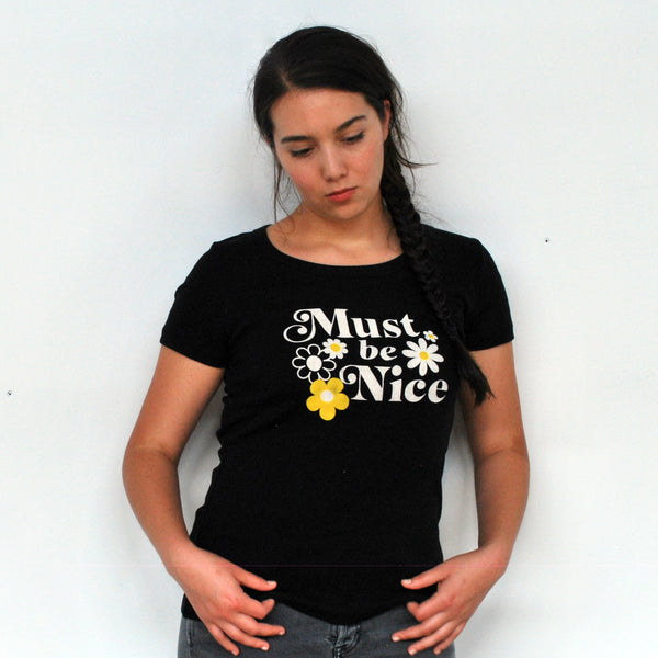Must Be Nice Scoop Neck T-Shirt