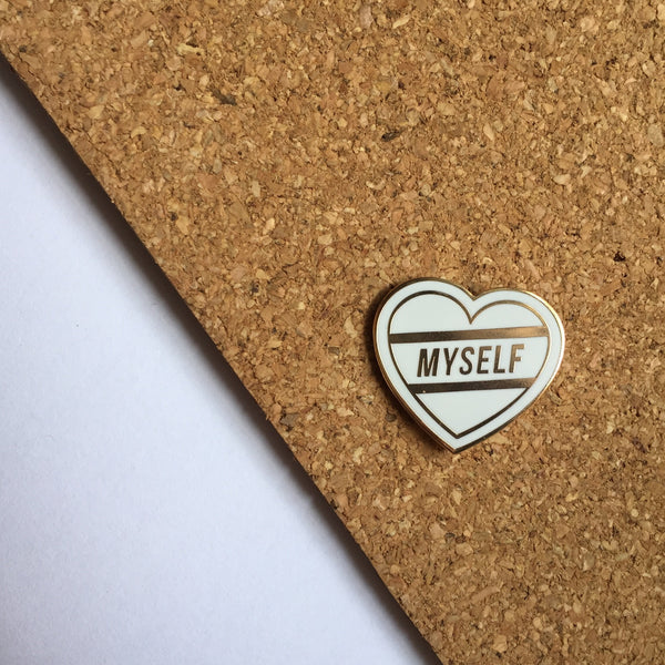 Love Myself Pin