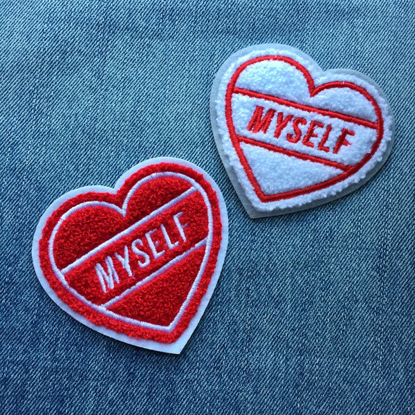 Love Myself Chenille Patch - Weird Empire