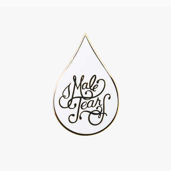 Male Tears Pin - Weird Empire