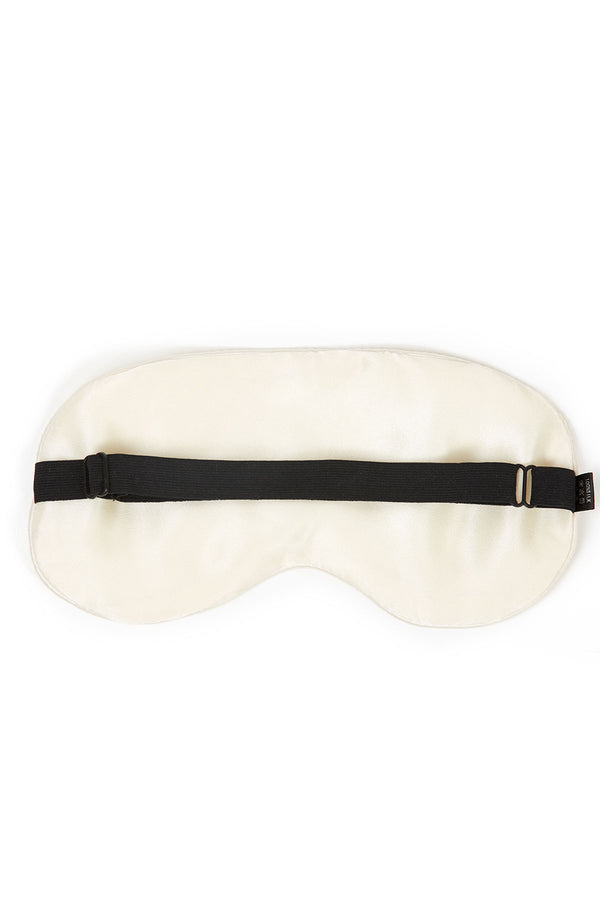 Silk Eye Mask (Ivory White)