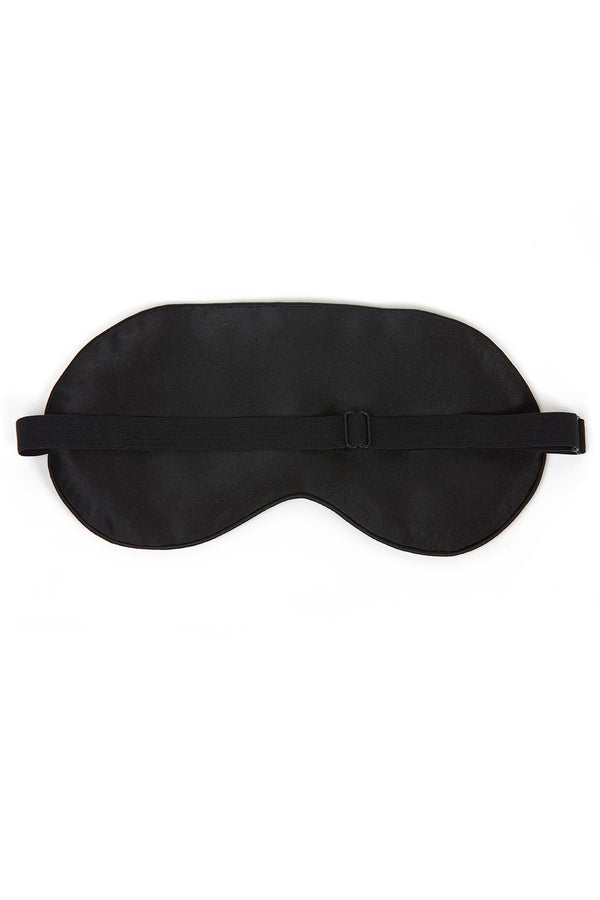 Silk Eye Mask (Black)